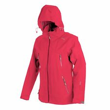 CMP Compagnolo Women's Outdoor Jacket with Hood Pink Colour Size EU 42 - UK 14