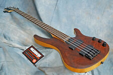 Original Washburn BB4 Cocobolo bass Active soapbar Pickups nicely balanced