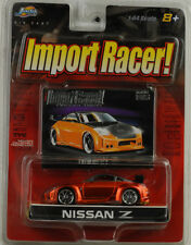 Nissan Z tuning import racer orange / black 1:64 Jada