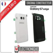 Vitre arrière Blanche Original Samsung Galaxy S7 Edge G935