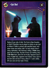 STAR WARS CCG REFLECTIONS VRF CARD EPIC DUEL