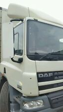 PAIR WHITE DAF XF CF TRUCK  MIRROR GUARDS 750mm euro 4 onwards euro 5 38mm arms