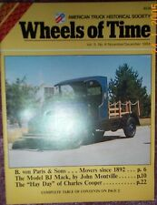 Mack BJ truck -  Argo Tachographs - 1984 Wheels of Time magazine