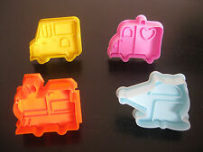 TRANSPORTATION TRAIN TRUCK CAR COOKIE CUTTER MOLD CUPCAKE BIRTHDAY PARTY FAVOR