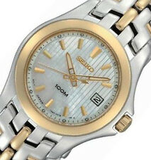 NON-WORKING Womens Two-Tone Stainless Steel Case Classic Watch SXDB88 NO BOX