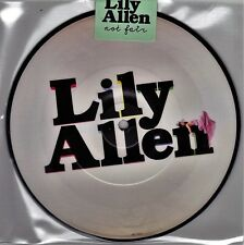 "Lily Allen - Not Fair / Why - 7"" EU Vinyl 45 Picture Disc - New & Sealed"