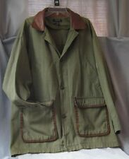 VTG Christian Dior Monsieur UTILITY JACKET OG Canvas Chore Barn Coat Size Medium