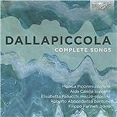 DALLAPICCOLA: COMPLETE SONGS NEW & SEALED