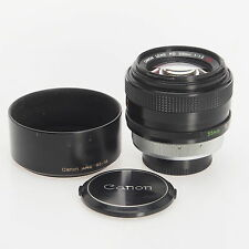 Canon FD 55mm F1.2 SSC Manual Focus Lens