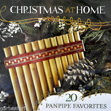 Christmas at Home Panpipe Favorites CD New Irish Celtic Andean 20 Songs 2004