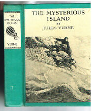 The Mysterious Island by Jules Verne N C Wyeth 1918 Rare Vintage Book! $