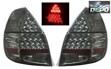 2007-2008 Honda Fit Jazz GD3 FULL LED ALL SMOKED Tail Lights DEPO
