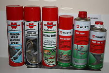 Wurth Assorted Top Quality Products For Any Workshop Or Home See Listing Detail