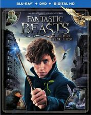 Fantastic Beasts and Where to Find Them Blu-ray/DVD Includes Digital Copy NEW