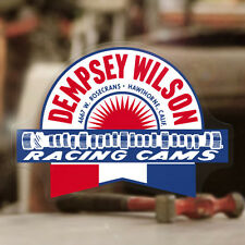 Dempsey Wilson Cams sticker decal old school hot rod vintage drag racing 4""