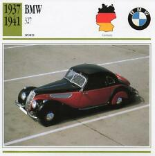 1937-1941 BMW 327 Sports Classic Car Photo/Info Maxi Card
