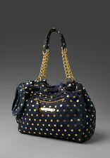 Juicy Couture Luxe Polka Dot Day Dreamer Bag in Club Navy NWT