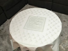 "FRETTE 1908 Green Floral Embroidered Tablecloth 83"" x 83"", PERFECT SIZE! NOW IN!"