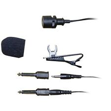PYLE PLM3 Wired Lavalier Microphone, unidirectional electret condenser