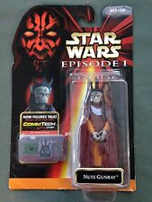 1999 Hasbro Star Wars Episode I 1 Comm Tech Nute Gunray Action Figure