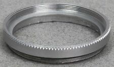 SERIES VI 6 FILTER RETAINING RING - METAL  DOUBLE THREADED -  SILVER