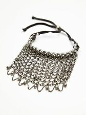 Free People Silver Chainmail Stretch Upper Arm Band -$28 MSRP