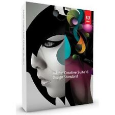 ADOBE Creative Suite CS6 Design Standard deutsch MAC MWST BOX Upg. v CS5.5 NEU