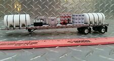 1/64 ERTL farm toy custom sprayer chemical wh water trailer loaded dcp flatbed