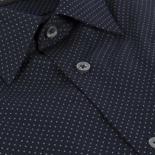 Paul Smith London$285 Micro Poka dot Tailored Fit Shirt UKEUR15/38 Made In Italy