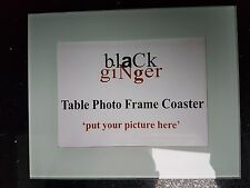 Black Ginger Coffee Table Photo Frame Coaster
