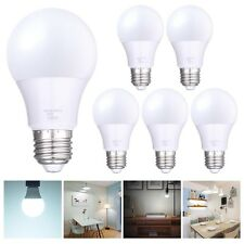 6 Packs 9W A19 LED Globe Light Bulb Lamp E27 AC85-265V Cool White