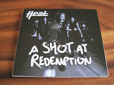 H.E.A.T A SHOT AT REDEMPTION SINGLE (CD) SINGLE + 3 UNRELEASED SONGS - MINT