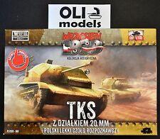 1/72 TKS Polish Light Recon Tank w/20mm Gun - First to Fight 001