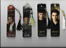TWILIGHT SAGA ECLIPSE NEW MOON TAYLOR LAUTNER ROBERT PATTINSON BOOKMARK LOT SET