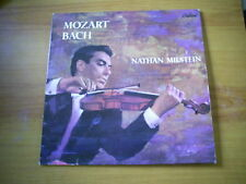 NATHAN MILSTEIN MOZART/BACH FRENCH LP CAPITOL HARRY BLECH