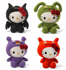 Hello Kitty Ugly Doll complete set of 4: Ice-Bat, Trunko, Wage, OX, New!
