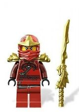 LEGO NINJAGO MINIFIGURE KAI ZX GOLD ARMOR DRAGON SWORD RED NINJA