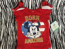 NEW NIKE AIR JORDAN BABY BOOTIES 0-6M GIRLS MINNIE MOUSE BODYSUIT 3-6M RED BLUE