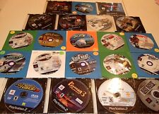 Lot of Twenty-One Misc. Games For Sony Playstation 2