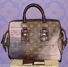 Louis Vuitton Richard Prince GRADUATE Printemps Jokes Snakeskin Bag MINT Limited