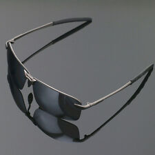 Mens Mirrored Lens Driving Glasses Polarized Sunglasses Sports Aviator Eyewear