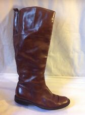 Marks&Spencer Brown Knee High Leather Boots Size 5