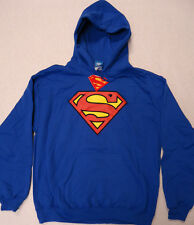 Fifth Sun DC Comics Superman Pullover Hoodie Sweatshirt MEDIUM