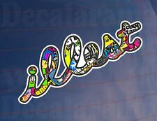 ILLEST Sticker Bomb Full Colour Car/Van/Bumper/Window Printed Vinyl Sticker