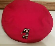 Disney MICKEY MOUSE Red Gatsby Hat Golf Adult Men's One Size Adjustable Cap Pro