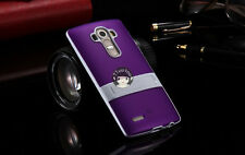 Matte Ultra Slim Gel TPU Silicone Case Cover Skin With Stand For LG G4 G3 G2