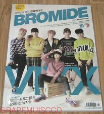 BROMIDE VIXX EXO AMBER RAINBOW NU'EST NIEL K-POP MAGAZINE 2015 APR APRIL NEW