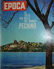 EPOCA N°591/ 28/GEN/1962 * MORO DICE L'ULTIMA PAROLA * MA CHE COS'E' L'ELEGANZA?