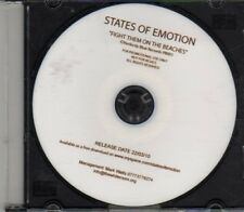 (CF397) States Of Emotion, Fight Them On The Beaches - 2010 DJ CD