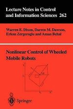 Nonlinear Control of Wheeled Mobile Robots (Lecture Notes in Control and Informa